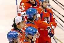 Nástup českých hokejistů