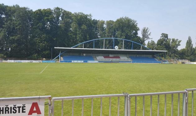 Sportovní fotbalový areál v Roudnici nad Labem