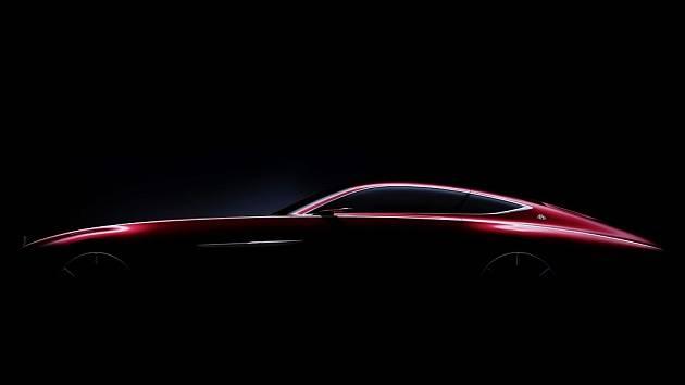 Mercedes-Maybach láká na koncept luxusního kupé.