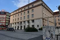 Budova ministerstva zdravotnictví v Praze na Palackého náměstí
