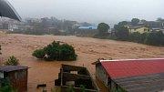 záplavy v Sierra Leone