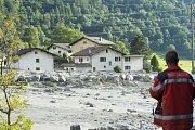 Sesuv půdy ve Švýcarsku