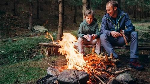 Zajistěte dětem kontakt s přírodou.