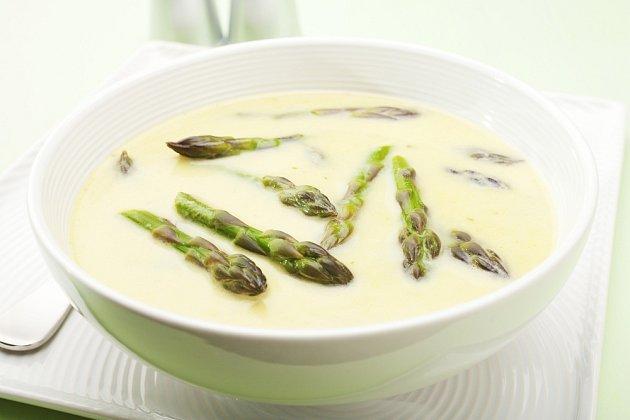 Chřestová polévka.