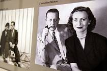 Ferdinand Peroutka s manželkou Slávkou