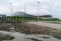 Ledový palác Balšoj v Soči je už k dispozici hokejistům.