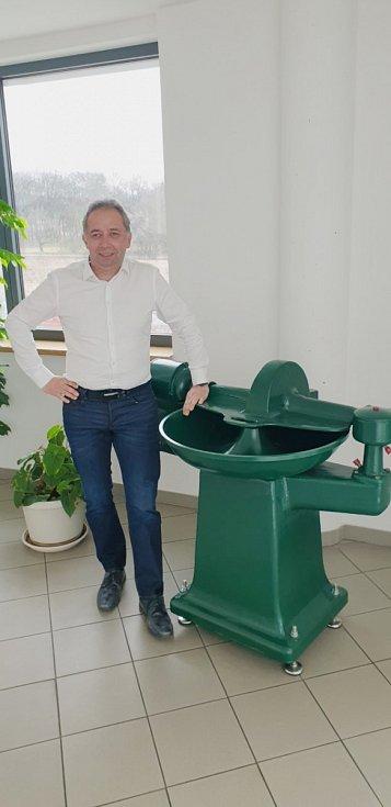 Jiří Plachý, ředitel společnosti Steinex