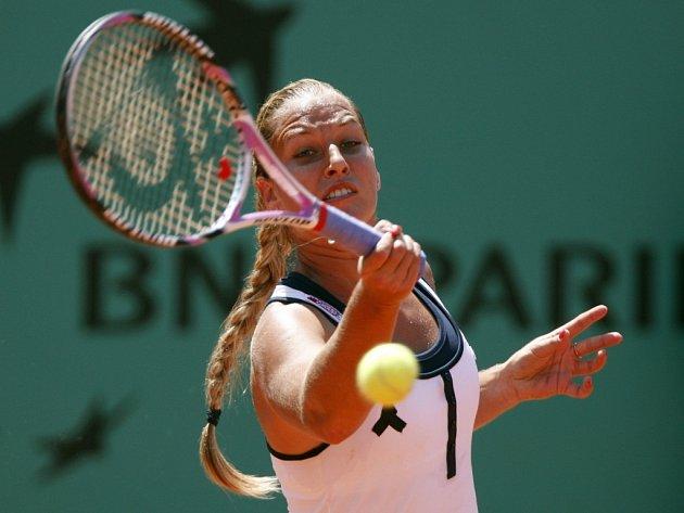 Dominika Cibulková v semifinále Roland Garros bojovala, do finále ale nepostoupila.