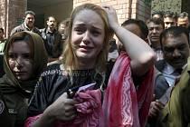 Tereza Hlušková po vynesení rozsudku