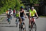 Otevírání valašské části cyklostezky Bečva