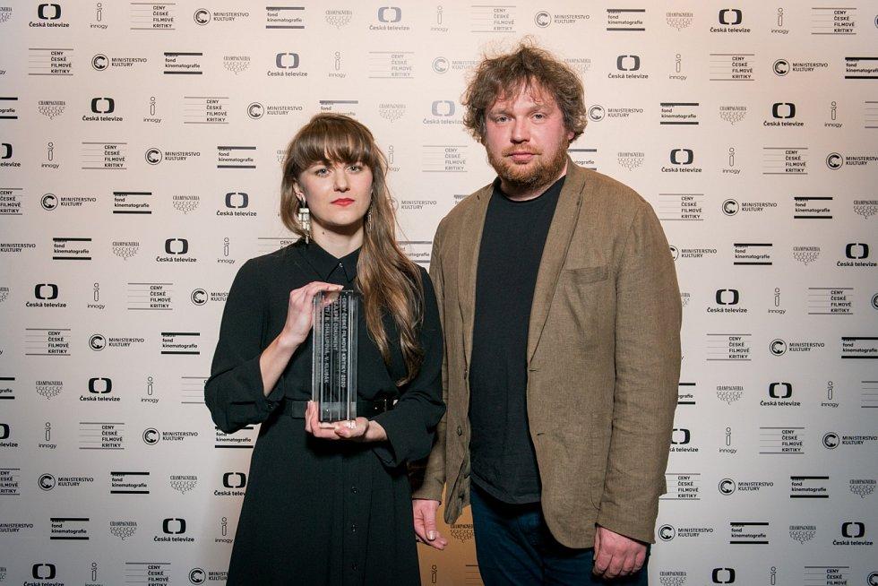 Barbora Chalupová a Vít Klusák získali cenu za dokument V síti.
