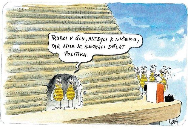 Trubci v úlu nebyli k ničemu, tak jsme je nechali dělat politiku.