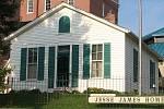 Dům Jesseho Jamese, v němž ho Robert Ford zastřelil