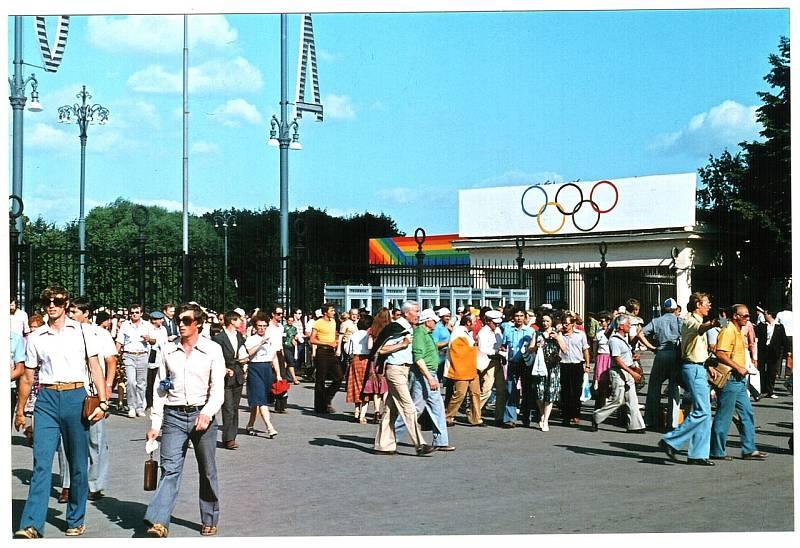 Letní olympijské hry v Moskvě v roce 1980