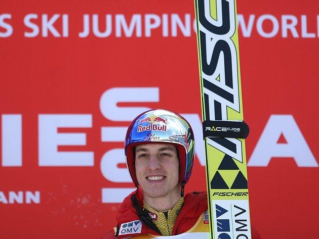 Rakouský skokan na lyžích Gregor Schlierenzauer.
