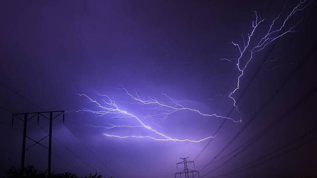 Bouřka - ilustrační foto