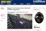 Zpráva britského deníku The Guardian