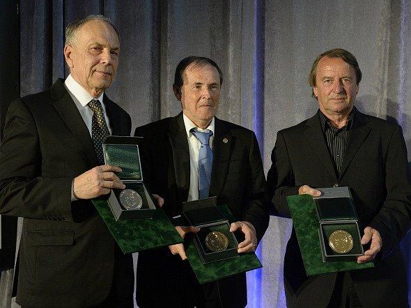 Přemysl Bičovský, Josef Pouček a Vladimír Táborský