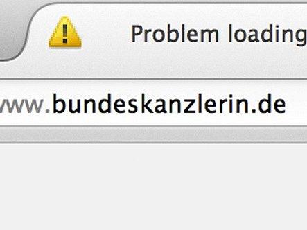Webové stránky německé kancléřky napadli hackeři.