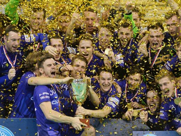 Florbalisté Vítkovic vyhráli podruhé v historii domácí pohár.