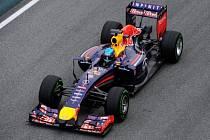Sebastian Vettel v Jerezu.