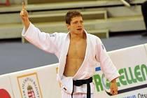 Judista Pavel Petřikov na mistrovství Evropy v Budapešti.