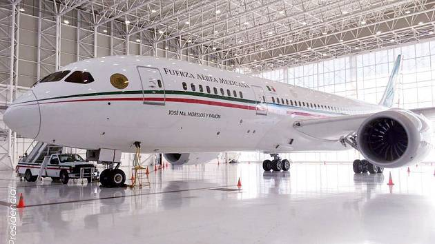 Prezidentský speciál Boeing 787-8 Dreamliner TP-01