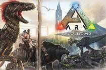 Počítačová hra ARK: Survival Evolved.