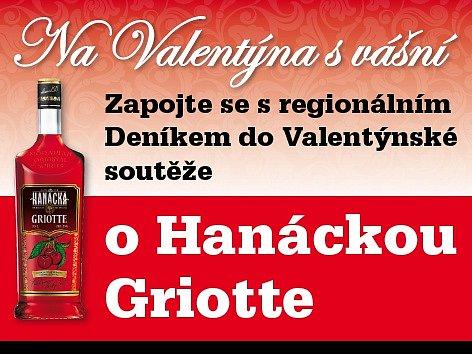 Zapojte se s regionálním Deníkem do Valentýnské soutěže o Hanáckou Griotte z nejstarší palírny U Zeleného stromu, která okouzlí smysly svým jedinečným aroma a chutí po vyzrálých višních.