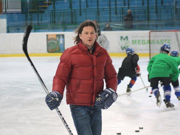 Čtyřnásobný mistr světa a olympijský vítěz z Nagana Martin Procházka.