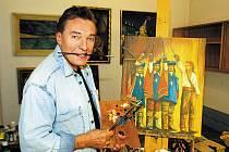 Karel Gott nebyl jen zpěvák, ale také malíř
