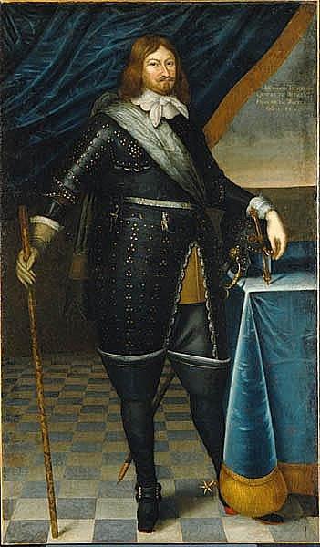 Švédský vojevůdce Lennart Torstenson