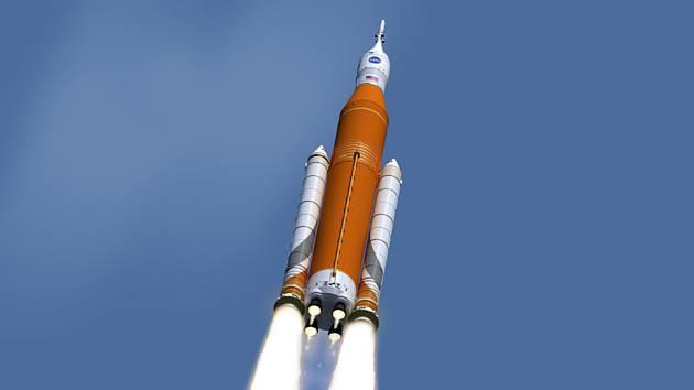 Vesmírná loď Orion agentury NASA - vizualizace