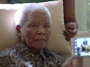 Prezident Jihoafrické republiky Jacob Zuma při inauguraci