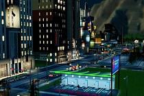 Nissan Leaf ve hře SimCity