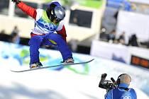 Snowboardistka Šárka Pančochová na své první olympiádě dvanáctičlenné finále závodu v U-rampě nepojede. skončila na 14. pozici.