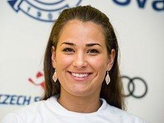 Skikrosařka Andrea Zemanová.