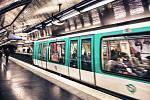 Pařížské metro. Ilustrační snímek