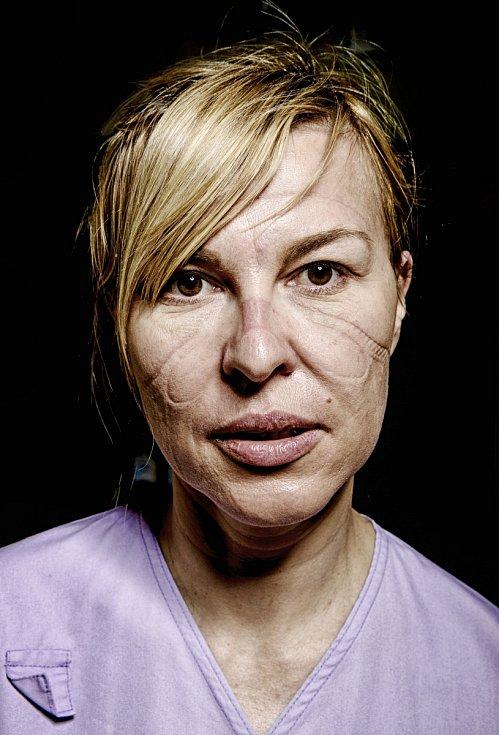 Kategorie Portrét: Sestřičky po službě v Covidáriu ARO Na Bulovce