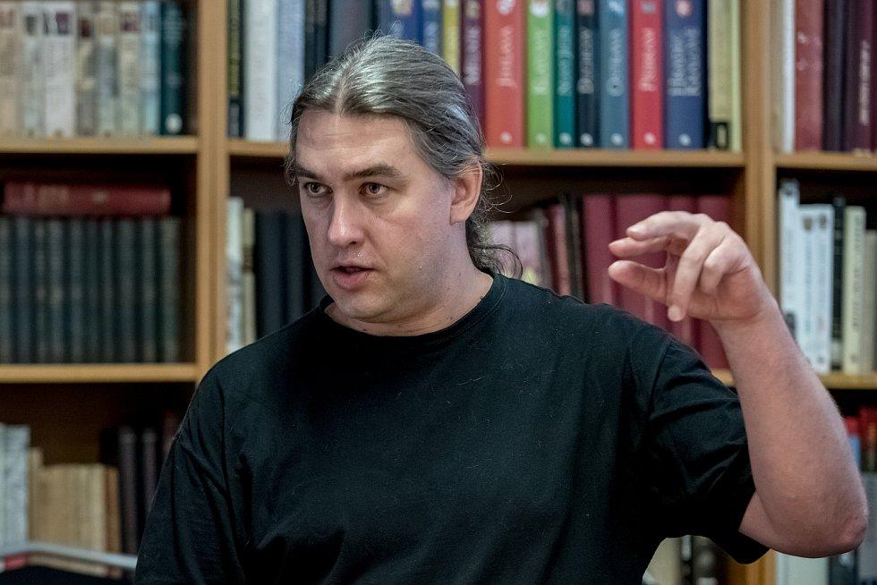 Historik Robert Novotný.
