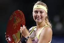 Vítězkou tenisového turnaje Pan Pacific Open v Tokiu se stala Ruska Šarapovová.