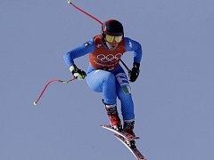 Italská lyžařka Sofia Goggiaová na ZOH 2018