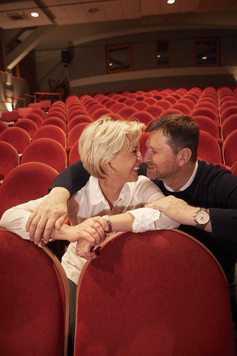 Jan Hrušínský a Miluše Šplechtová letos oslaví 35. výročí manželství.