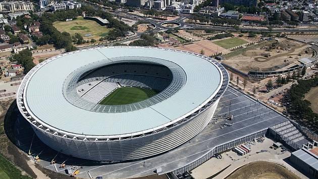 Green Point Stadium – Kapské město. Kapacita: 66 005