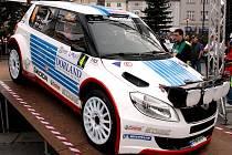 Jan Kopecký s vozem Škoda Fabia S2000 vyhrál Valašskou rally.