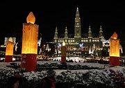 Vídeňský vánoční trh.
