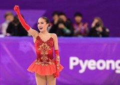 Alina Zagitovová je v patnácti letech olympijskou vítězkou.