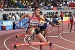 Zuzana Hejnová v rozběhu mistrovství světa