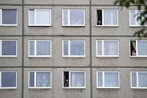 Panelový dům, byty - ilustrační foto.