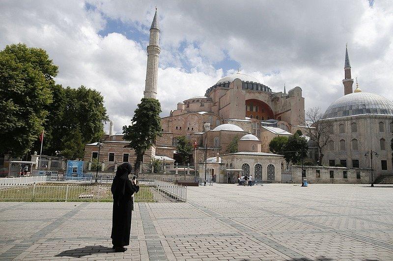 Turecko označilo budovu Hagia Sofia za mešitu. Vysloužilo si kritiku.